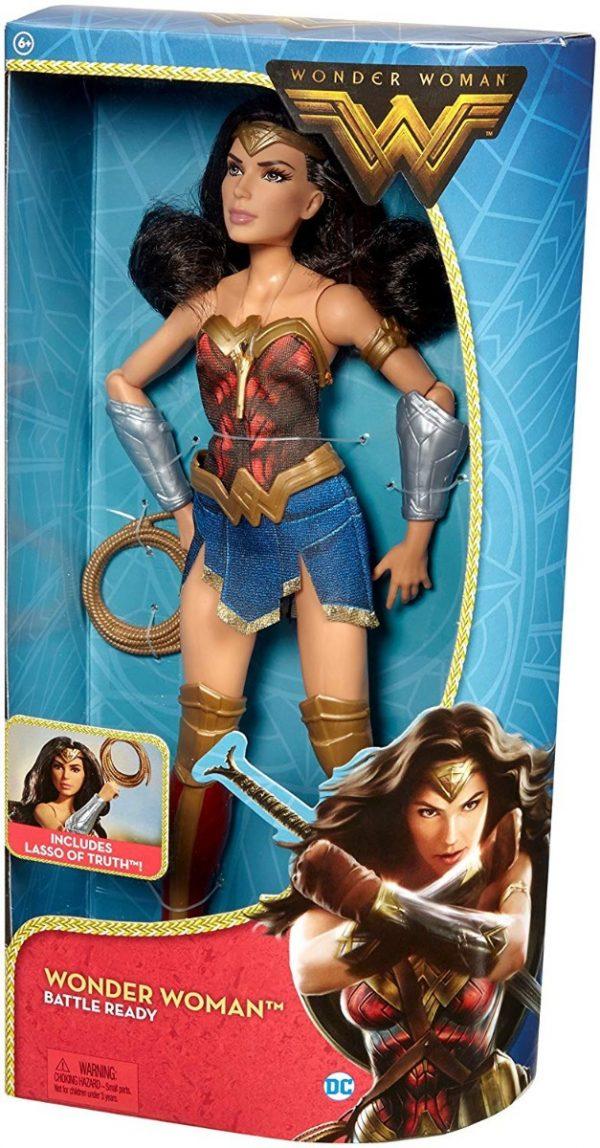 Barbie Wonder Woman Battle Ready Mattel