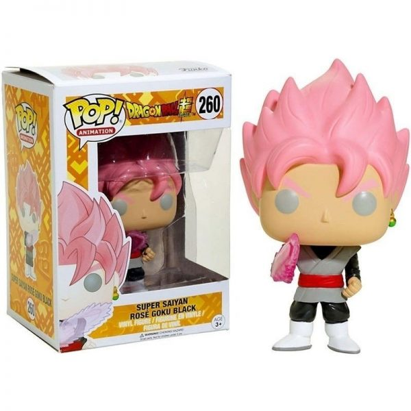 Funko Pop Super Saiyan Goku Rose 260