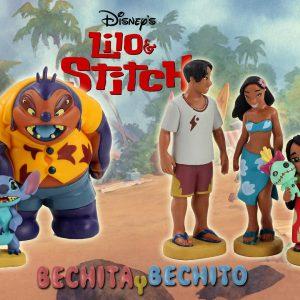 Lilo & Stitch Gashapones