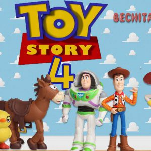 toy story 4 set de gashapones