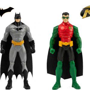 Batman y Robin 15 cm